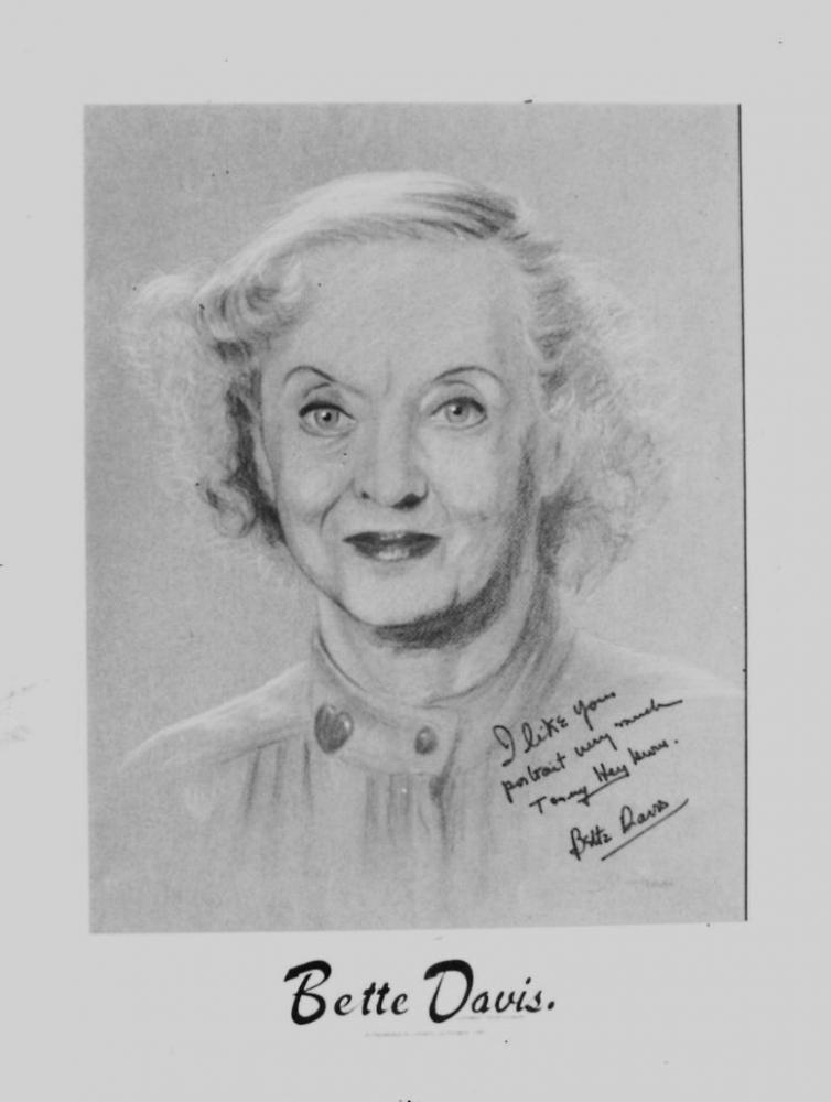 Bette Davis par Tom-Heyburn